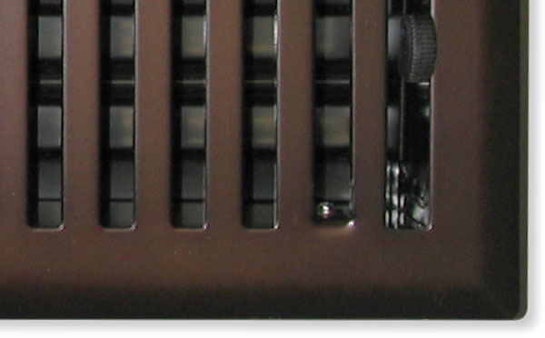 Mission Air Vent In Oil Rubbed Bronze