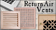 return air vents, filtered and unfiltered return air vent for floor, wall, or ceiling