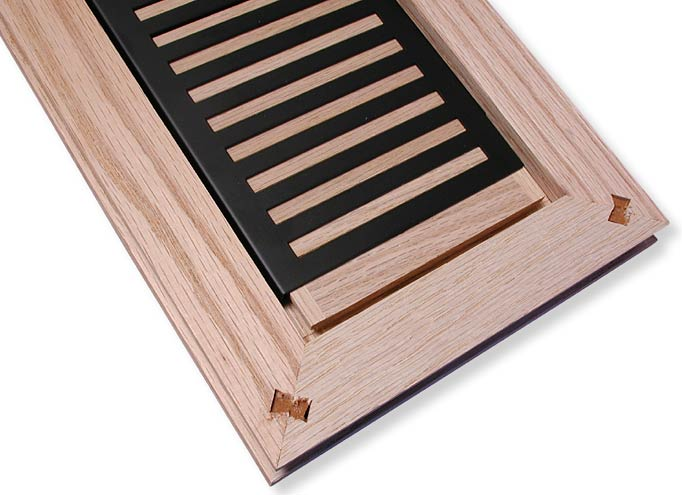 Rickenbacker Flush Mount Wood Air Vents For New Flooring