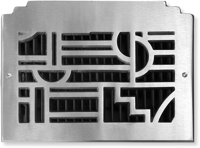 42nd Street Art Deco Style Cast Air Vent